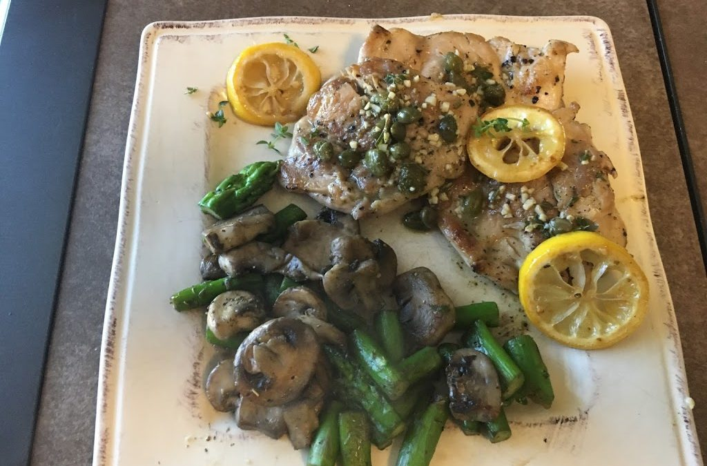 Amy's Chicken Piccata